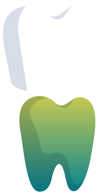 Animated tooth and dental crown