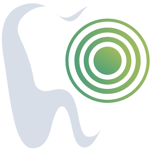 Animated tooth with spiral